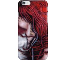 my heart soars like a blood red artifact iPhone Case/Skin