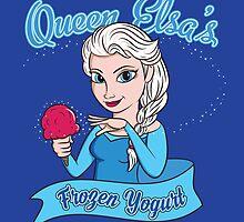 Queen Elsa's Frozen Yogurt by irkedorc