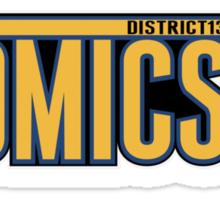 District 13 Atomics Sticker