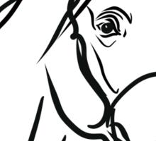 horse head Sticker