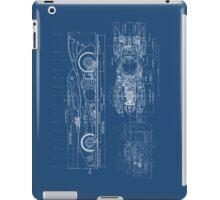 Batmobile Blueprint iPad Case/Skin