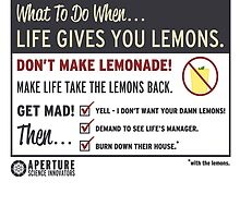 When life gives you lemons  by DaForrest