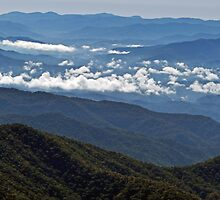 Great Smoky Mountains National Park - Tennessee by Rebel Kreklow