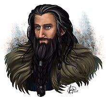 Thorin Oakenshield by kurocyou