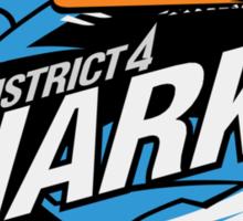District 4 Sharks Sticker