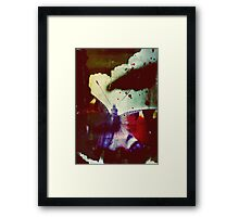 Fear of Butterflies Framed Print