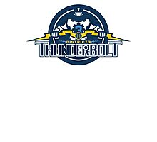 District 3 Thunderbolt Photographic Print