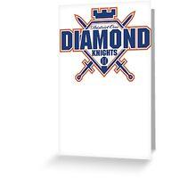 District 1 Diamond Knights Greeting Card