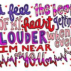I Wish Lyric Art by maddiedrawings