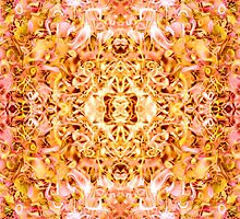 Golden-Rose Symmetrical Abstractive Dream by FireFairy