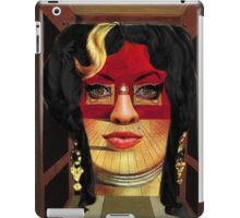Amy Winehouse as Portrait of Mae West by Salvador Dalí iPad Case/Skin