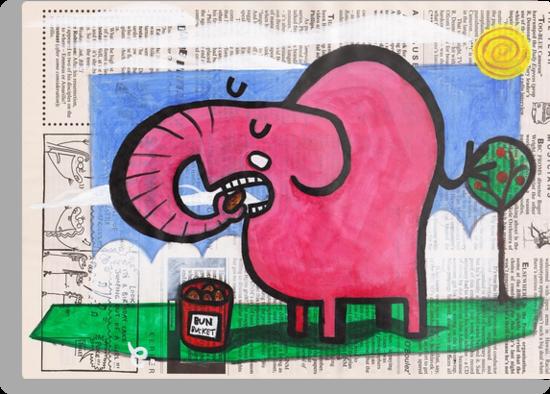 Elephant by dotmund