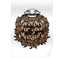 Bearded for Your Pleasure Poster
