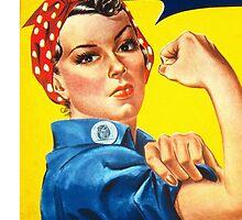 Rosie the Riveter by katherine Hayes
