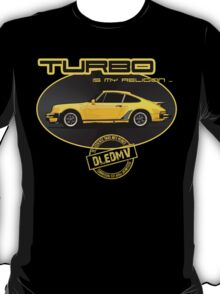 DLEDMV - Turbo is my religion T-Shirt