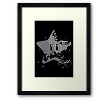 Super Death Star Framed Print