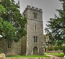 St Giles Wormshill by Dave Godden