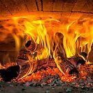 Into the fire... by Daniel  Parent