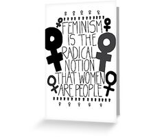 Women are People #1 Greeting Card