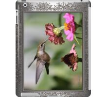 A Sip From a Zinnia iPad Case/Skin