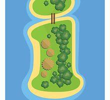 I is for Island by Jason Jeffery