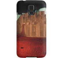 Poppies at the Tower of London - At Night #2 Samsung Galaxy Case/Skin