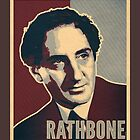 Sherlock Trilogy  - Rathbone (Greeting Card) by ifourdezign