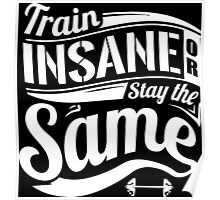 Train Insane Or Stay The Same Poster