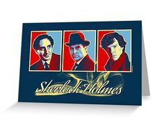 Sherlock Trilogy - X3 Red/Blue (Card) Greeting Card