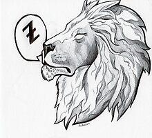 Lion a li-on around by Ashley Dadoun