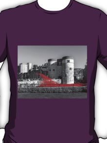 Cascading Red Poppies T-Shirt