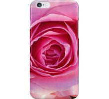 Pink Rose and Ribbon iPhone Case/Skin