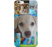 "We just adopted ""Honey and Jemma""♡  iPhone Case/Skin"