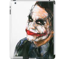 Portrait: Joker's Smile iPad Case/Skin