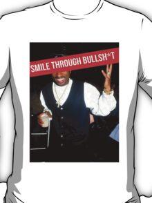 2Pac Smile Through Bullshit Supreme SALE T-Shirt