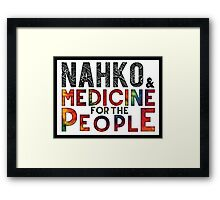 Nahko & Medicine for the People Fan Art Framed Print