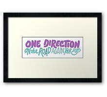 One Direction OTRAT Framed Print
