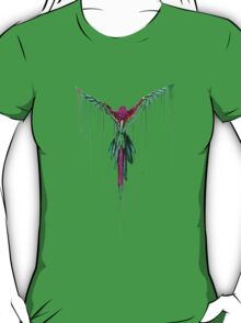 Awesome Melting Parrot T-Shirt