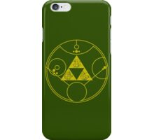 Gallifreyan Hylian Crest iPhone Case/Skin