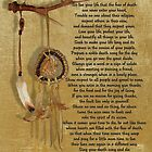 """Live Your Life""  by Chief Tecumseh dream catcher by Irisangel"
