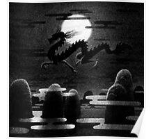 Drawlloween 2014: Dragon Poster