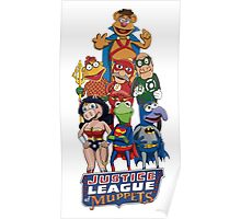 Justice League of Muppets Poster