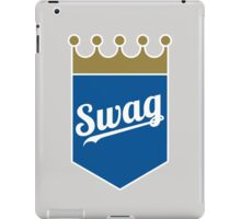 Royal Swag Crown iPad Case/Skin