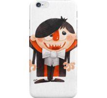 Dracula kid iPhone Case/Skin