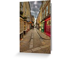 Shambles #1 - York Greeting Card