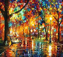 Colorful Night — Buy Now Link - www.etsy.com/listing/127706097 by Leonid  Afremov