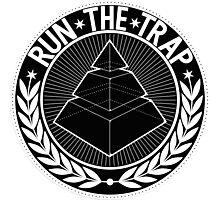 Run the Trap t shirt Photographic Print