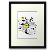 Water-lilies  Framed Print