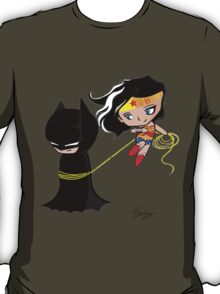 Batman and wonder woman T-Shirt