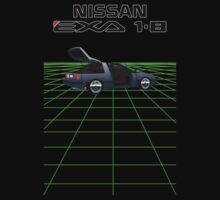 Nissan N13 Exa Coupe by SEZGFX